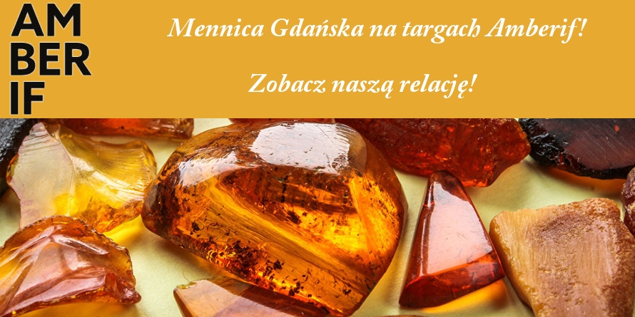 Mennica Gdańska na targach Amberif 2019!