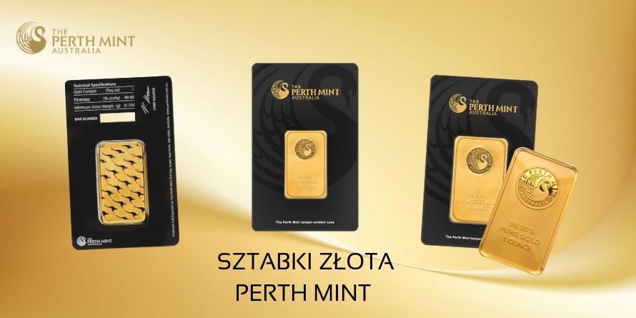 Sztabki Złota Perth Mint