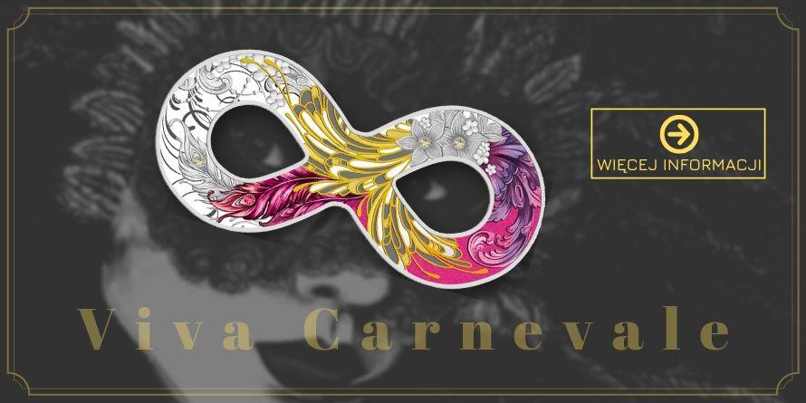 500 Francs Maska Karnawałowa