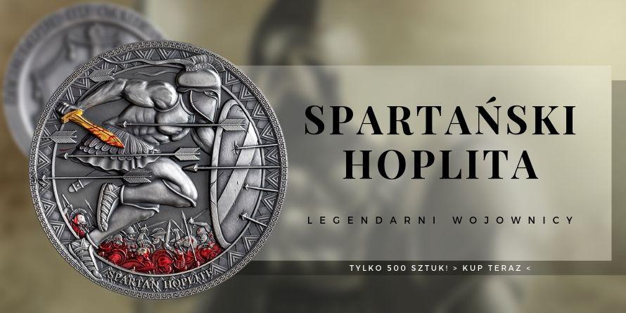 3000 Franków Spartański Hoplita - Legendarni Wojownicy