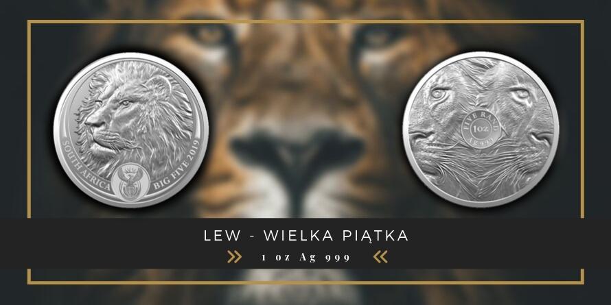 5 Rand Lew - Wielka Piątka