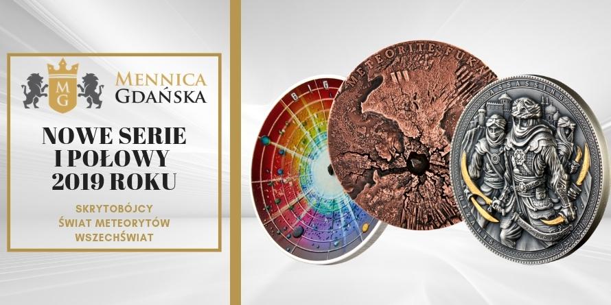 Nasze nowe serie monet
