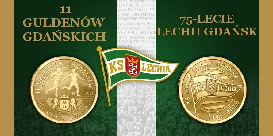 11 Guldenów Gdańskich 75-lecie Lechii Gdańsk