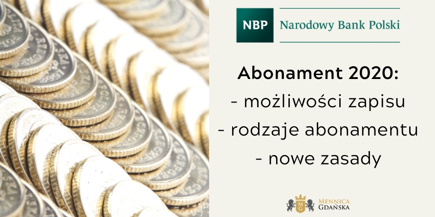 Abonament NBP na 2020 rok