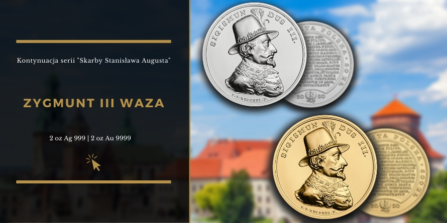 Zygmunt III Waza - Skarby Stanisława Augusta