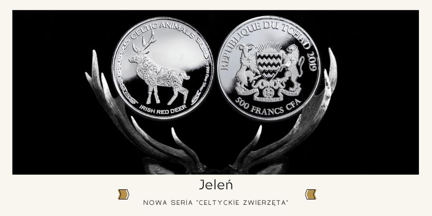 Jeleń - Celtyckie Zwierzęta