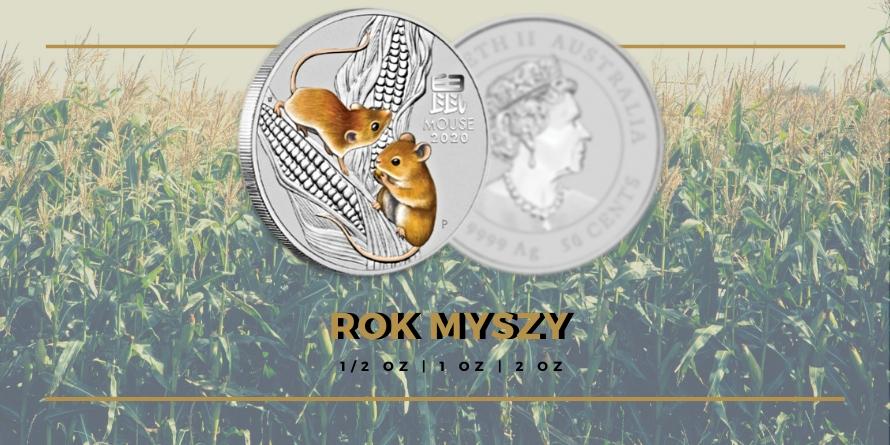 Rok Myszy - monety bulionowe