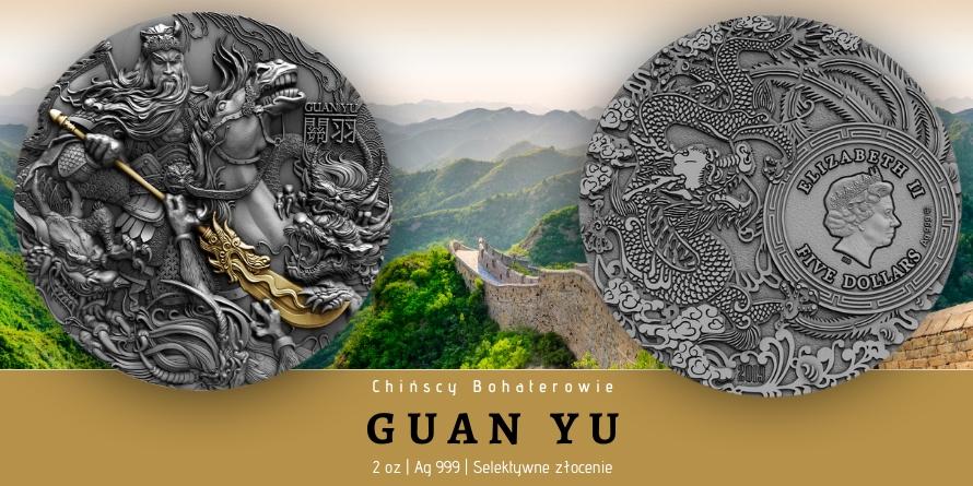 Guan Yu - Chińscy Bohaterowie