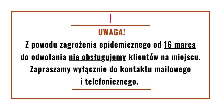 Mennica Gdańska zamknięta dla klientów