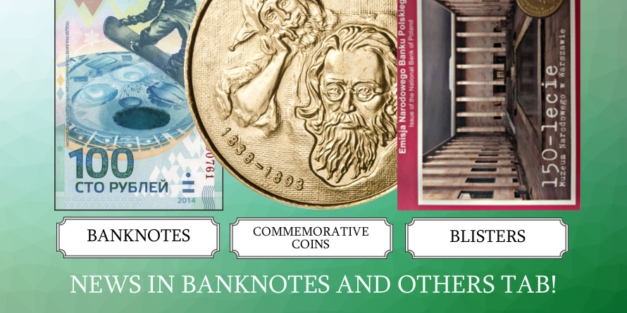 Banknotes and others