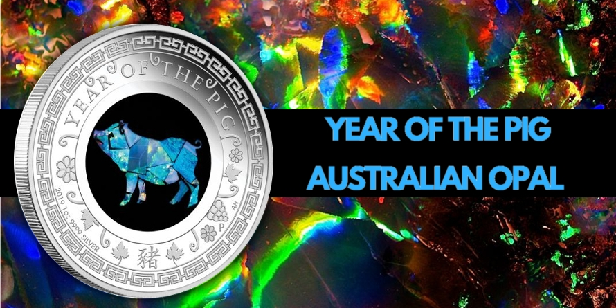 Year of the Pig - Australian Opal