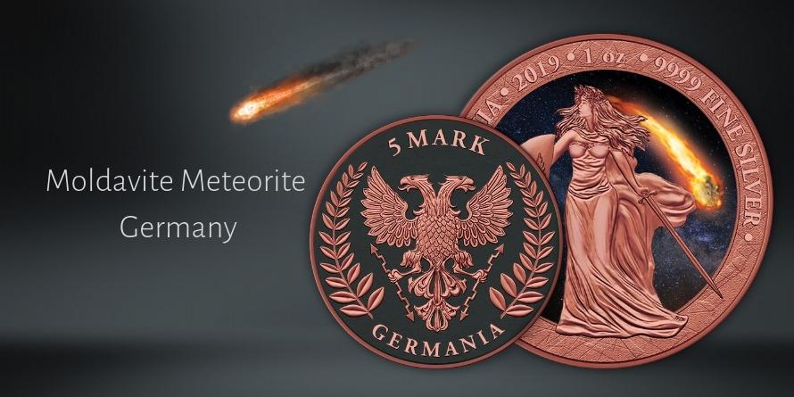 5 Marek Moldavite Meteorite Germany