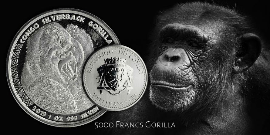 5000 Francs Gorilla