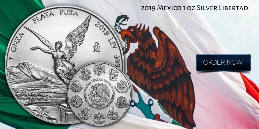 2019 Mexico 1 oz Silver Libertad