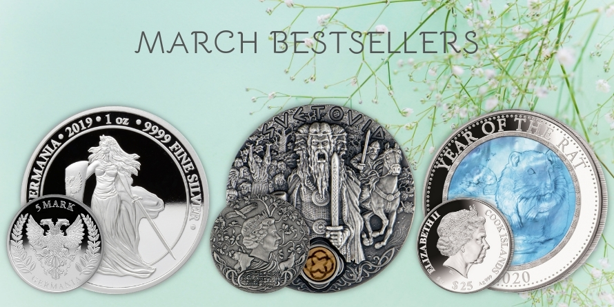 MARCH BESTSELLERS