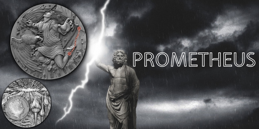 $5 Prometheus - Ancient Myths