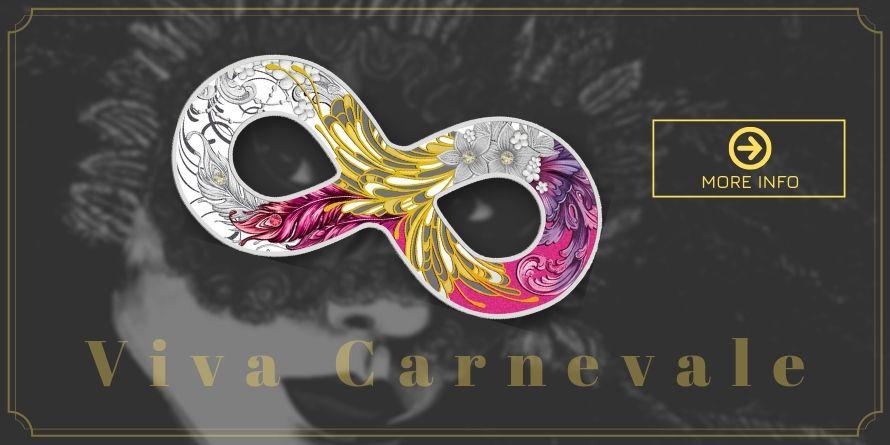 500 Francs Carnival Mask