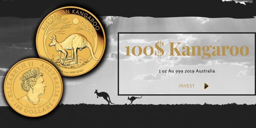 100$ Kangaroo