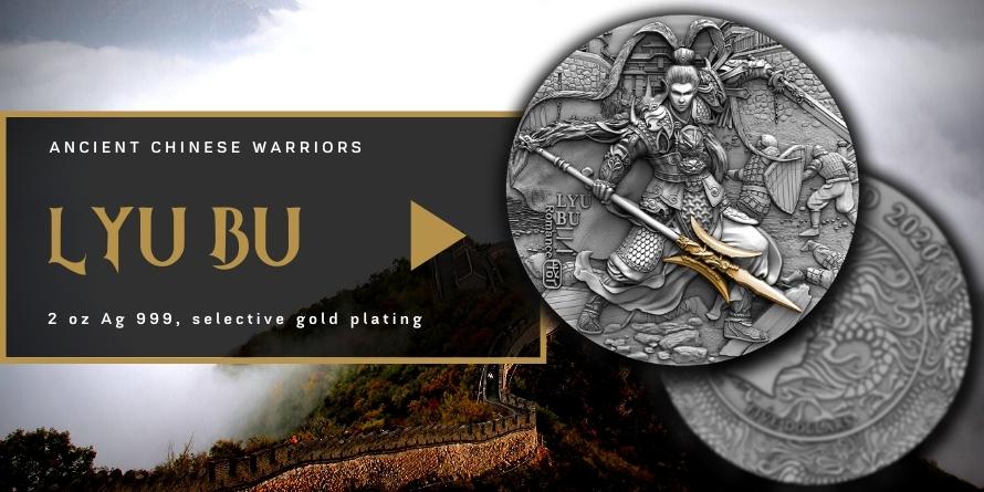 LYU BU - ANCIENT CHINESE WARRIORS