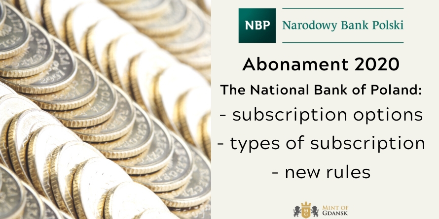 Subscription to the NBP coins for 2020