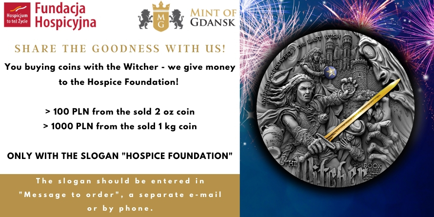 Mint of Gdansk and HOSPICE FOUNDATION