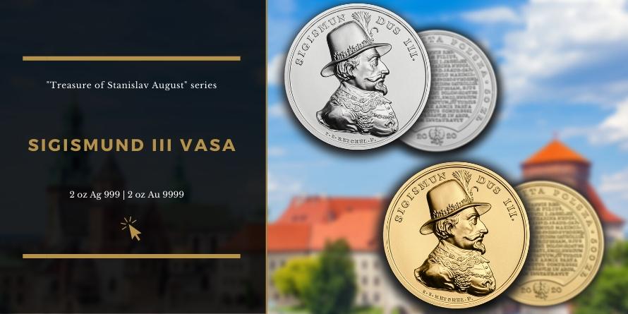 SIGISMUND III VASA - TREASURES OF STANISLAW AUGUST