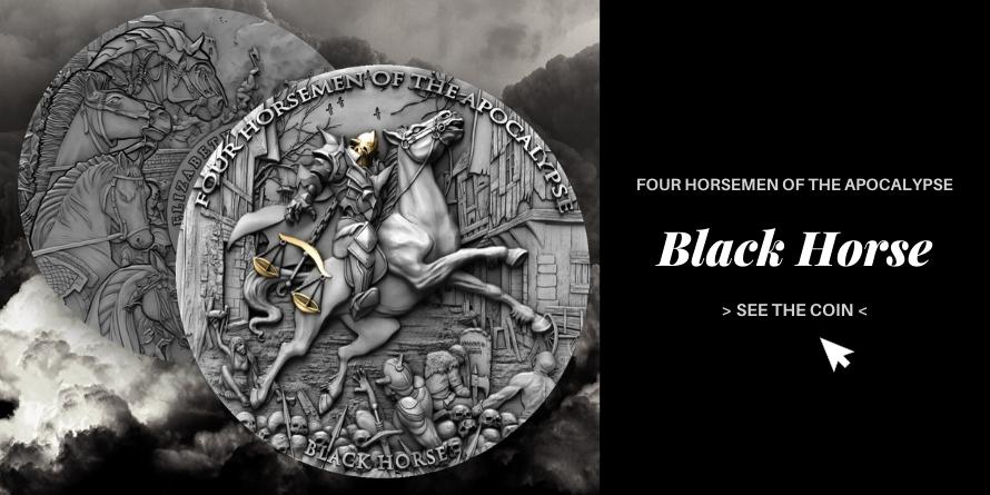 BLACK HORSE - FOUR RIDERS OF THE APOCALYPSE