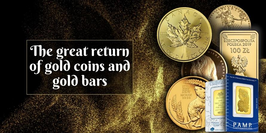 Return of gold