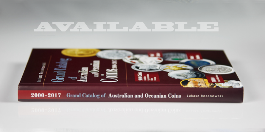 GRAND CATALOG OF AUSTRALIAN AND OCEANIAN COINS