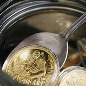 Najlepszy bulion... 😎  The best bouillon... 😎  #witcher #goldWitcher #wiedźmin #złotywiedźmin #coins #invest #investment #numismatic #coinmasters #bouillon #rosół #numismatist #bouillon