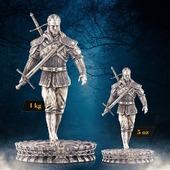 ENG BELOW 👇🏻  PIERWSZA NA SWIECIE MONETA W KSZTAŁCIE FIGURKI - WYBITA ZE SREBRA! 😍  Dołącz do elitarnego grona posiadaczy srebrnego Geralta z Rivii, w wersji 5 oz lub 1 kg.  Wchodzimy na wyższy poziom numizmatyki. Link do monety znajduje się w bio!  🇬🇧  WORLD'S FIRST FIGURINE COIN - STRUCK IN SILVER! 😍   Join the elite group of owners of the silver Geralt of Rivia, in 5 oz or 1 kg versions.  Take numismatics to the next level. The link to the coin is in the bio!  #thewitcher #thewitchernetflix #geraltofrivia #geralt #wiedźmin #wiedzmin #geraltzrivii #mieczprzeznaczenia #maciejmusiał #maciejmusial #netflix #monetakolekcjonerska #numizmatyka #inwestycja #numismatics #collectorcoins #coins #silvercoins #investment #thewitcherfans