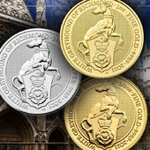 """ENG BELOW 👇🏻 Wiemy, że czekaliście na tę monetę. Ostatnia moneta w serii """"Bestie Królowej"""" jest już dostępna na naszej stronie! 🤯 🇬🇧  We know that you have been waiting for this coin. The last coin of the """"Beast of the Queen"""" series is now available on our website! 😯 #coin #numismatic #pomorskie #mennicagdanska #trojmiasto #gdansk #collector #coincollector #investing  #coins #coinscollection #worldcoins #coinmaster #coinhunting  #coincollecting  #mintofgdansk #hobby #passion #money #unusualcoins #coincollectorsofinstagram #investments #investmentcoins #queensbeasts #queenelizabeth #whitegreyhound"""