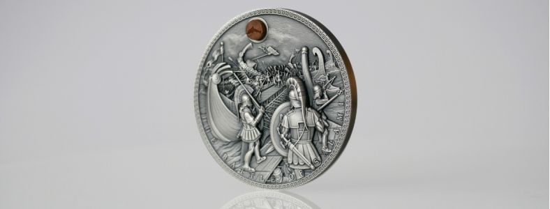 The Battle of Salamis - the first coin in the new series